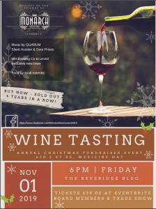 2019-11-01 Wine Tasting
